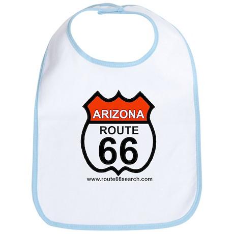 Arizona Route 66 Baby Bib