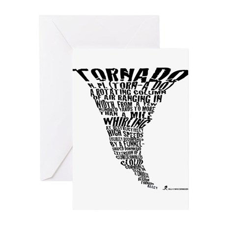 The Best Storm Chaser Ever in Greeting Cards (Pk o
