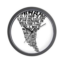 The Best Storm Chaser Ever in Wall Clock
