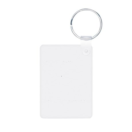 Parry-Riposte Aluminum Photo Keychain