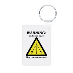 Warning: Addictive Sport Keychains