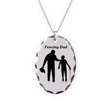 Fencing Dad Necklace