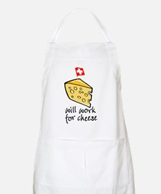 Work for Cheese BBQ Apron