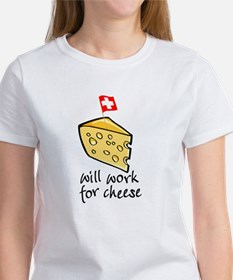 Work for Cheese Tee