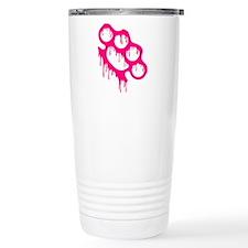 Brass Knuckles Travel Coffee Mug