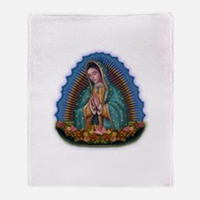 Lady of Guadalupe T1 Throw Blanket