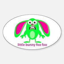 Little Bunny Foo Foo Decal