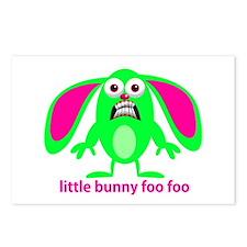 Little Bunny Foo Foo Postcards (Package of 8)