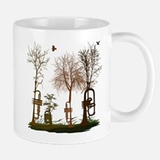 Trumpets as Trees Mug