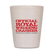Official Royal Wedding Crashe Shot Glass