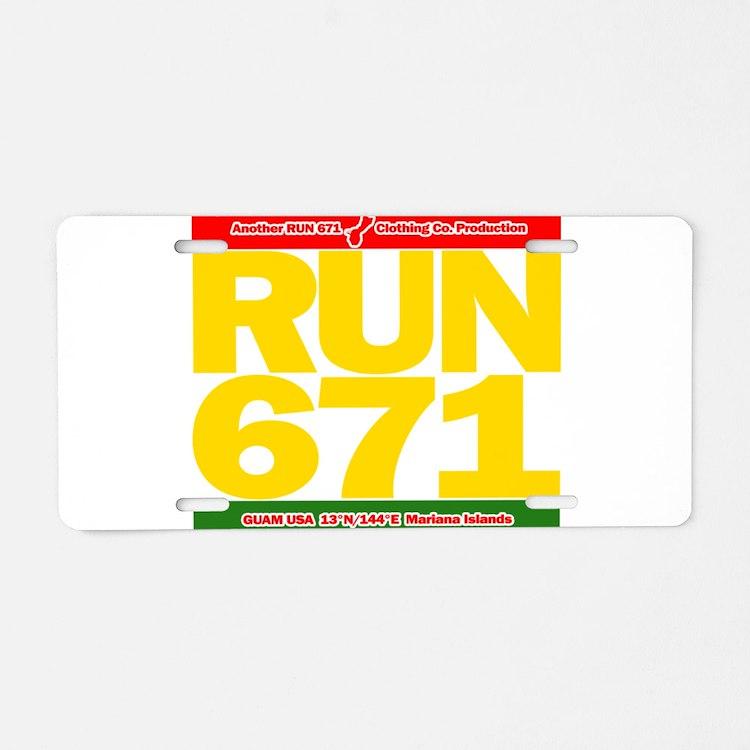 RUN 671 GUAM REGGEA Island Kings tee Aluminum Lice