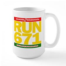 RUN 671 GUAM REGGEA Island Kings tee Mug