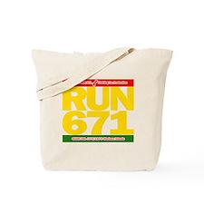 RUN 671 GUAM REGGEA Island Kings tee Tote Bag