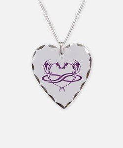 Relationships Necklace Heart Charm