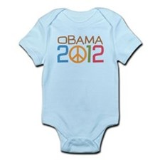 Obama Peace Sign Infant Bodysuit