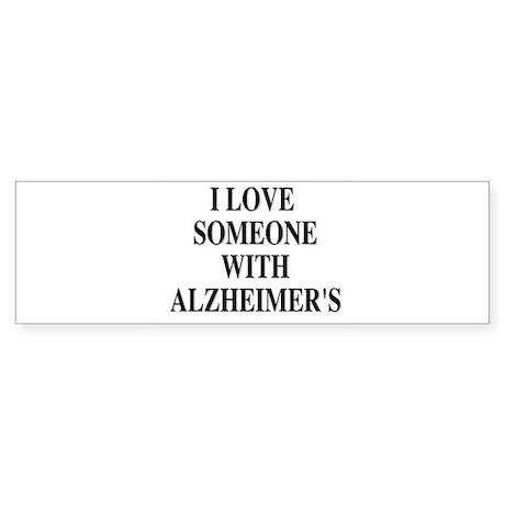 Alzheimer's Bumper Sticker