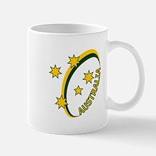 Aussie rugby cross 1 Mug