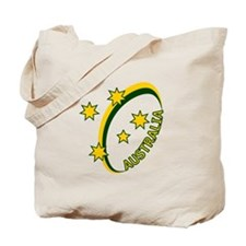 Aussie rugby cross 1 Tote Bag