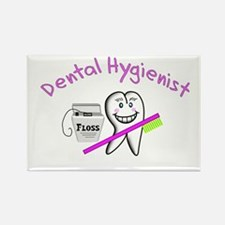 Dental Hygienist/Techs Rectangle Magnet