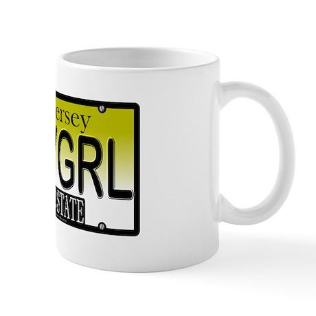 Jersey Girl NJ Plate Mug