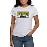 Jersey Girl NJ Plate Women's T-Shirt