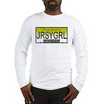 Jersey Girl NJ Plate Long Sleeve T-Shirt