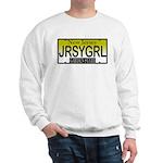 Jersey Girl NJ Plate Sweatshirt
