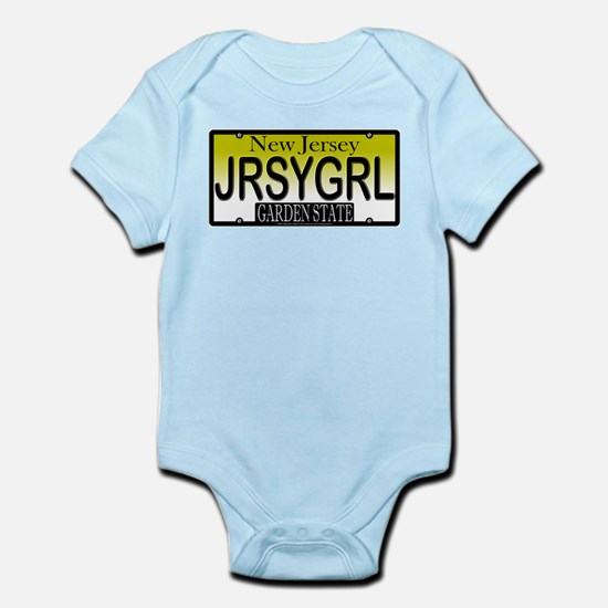 Jersey Girl NJ Plate Infant Creeper