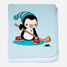 Ice Hockey (5) baby blanket