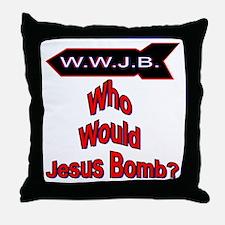 WWJB Throw Pillow