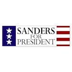 Sanders for President Bumper Sticker