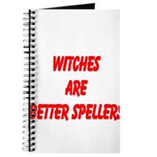 WITCHES ARE BETTER SPELLERS Journal