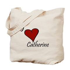 I love Catherine Tote Bag