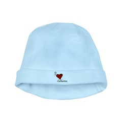 I love Catherine baby hat