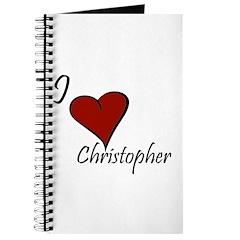 I love Christopher Journal