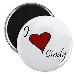 I love Cindy Magnet
