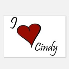 I love Cindy Postcards (Package of 8)