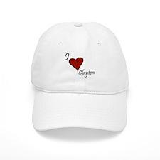 I love Clayton Baseball Cap