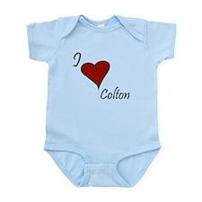I love Colton Infant Bodysuit