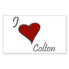 I love Colton Decal