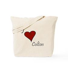 I love Colton Tote Bag