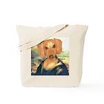 Mona Dachshund Tote Bag