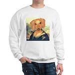 Mona Dachshund Sweatshirt
