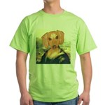Mona Dachshund Green T-Shirt