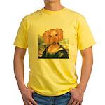 Mona Dachshund Yellow T-Shirt