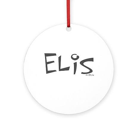 Elis Ornament (Round)