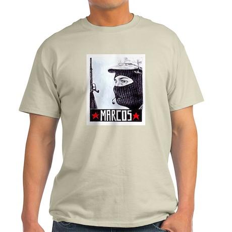 Marcos Zapatista Ash Grey T-Shirt