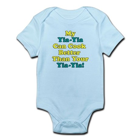 Yia-Yia Cooks Better Infant Bodysuit