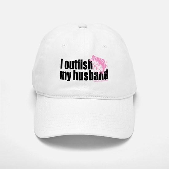 Outfish My Husband Baseball Baseball Cap