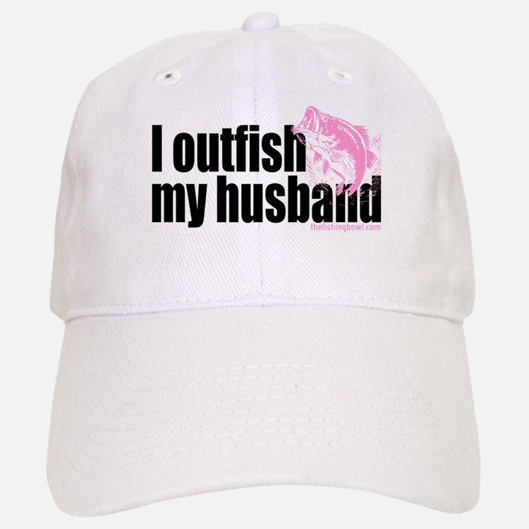 Outfish My Husband Baseball Baseball Cap